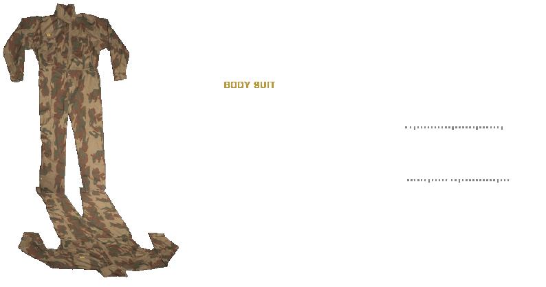 Bodysuit Illustration