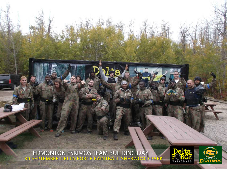 Edmonton Eskimos Delta Force Sherwood Park